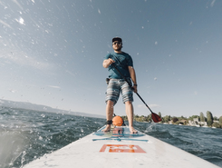 Plage de Collonge-Bellerive spot de stand up paddle en Suisse