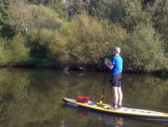 River Ems spot de stand up paddle en Allemagne