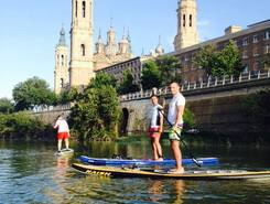 Ebro - El PILAR de Zaragoza paddle board spot in Spain