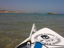 Pescara Sud spot de stand up paddle en Italie