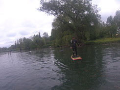Marais audomarois paddle board spot in France