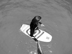 Hendaye sitio de stand up paddle / paddle surf en Francia