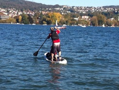 Hafen sitio de stand up paddle / paddle surf en Suiza