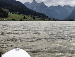 Euthal sitio de stand up paddle / paddle surf en Suiza