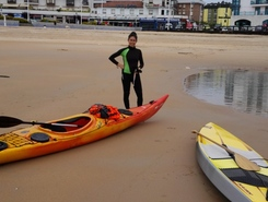 ria de suances sitio de stand up paddle / paddle surf en España