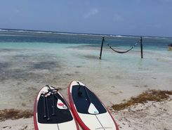 Mahahual spot de stand up paddle en Mexique