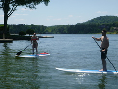 Harrison Bluff  at  Tennessee  R. mile marker 477 paddle board spot in United States