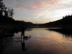 Rio Cris paddle board spot in Portugal