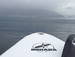 Ranzo spot de stand up paddle en Suisse