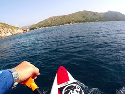 Tuerredda paddle board spot in Italy