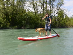 Canoe club Geneve spot de stand up paddle en Suisse