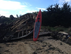 Etel spot de stand up paddle en France