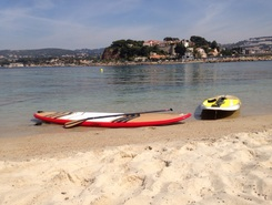 Île de Bendor plage de Bandol paddle board spot in France