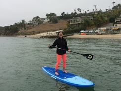 Carlsbad Lagoon paddle board spot in United States