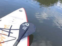 Canal d'aire paddle board spot in France