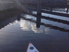 Eilamd 4 paddle board spot in Netherlands