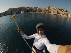 Gaeta sitio de stand up paddle / paddle surf en Italia