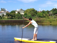 Rio Capivara paddle board spot in Brazil