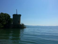 Tuoro paddle board spot in Italy