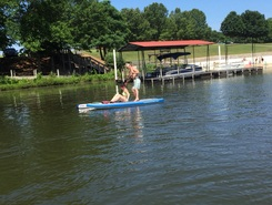 Sandy Creek Park paddle board spot in United States