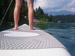 Bled sitio de stand up paddle / paddle surf en Eslovenia