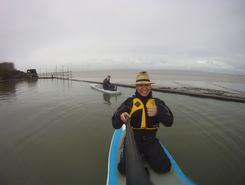 Clevedon Marine Lake sitio de stand up paddle / paddle surf en Reino Unido