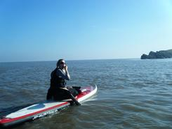 Knightstone Island spot de stand up paddle en Royaume-Uni
