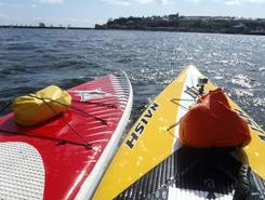 Cardiff Bay sitio de stand up paddle / paddle surf en Reino Unido