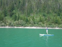 Sylvenstein See  sitio de stand up paddle / paddle surf en Alemania