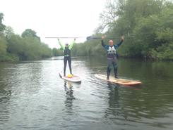 Kerne Bridge start sitio de stand up paddle / paddle surf en Reino Unido