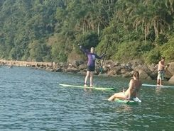 Praia Grande - Canto do Forte paddle board spot in Brazil