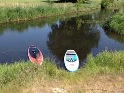 Salbker  paddle board spot in Germany