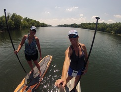 Black Warrior River paddle board spot in United States