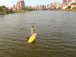 Lagoa do Violão paddle board spot in Brazil