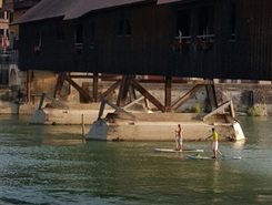 Aare sitio de stand up paddle / paddle surf en Suiza