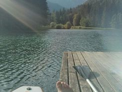 Jezersko Lake sitio de stand up paddle / paddle surf en Eslovenia