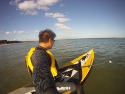Poole Harbour paddle board spot in United Kingdom