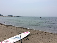 一色海岸 sitio de stand up paddle / paddle surf en Japón