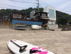 佐久間小屋 sitio de stand up paddle / paddle surf en Japón