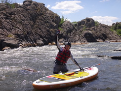 Myhiya sitio de stand up paddle / paddle surf en Ucrania
