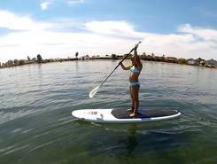 La Manga del Mar Menor sitio de stand up paddle / paddle surf en España
