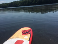 WF reservoir sitio de stand up paddle / paddle surf en Estados Unidos