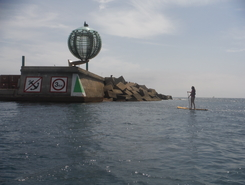 St. Antoni de Calonge -Palamos paddle board spot in Spain