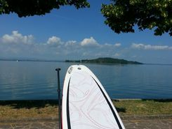 San Feliciano paddle board spot in Italy