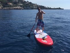 Marquet-Mala paddle board spot in Monaco