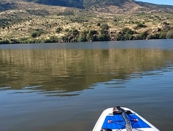 Charco del Cura paddle board spot in Spain