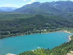 Rattlesnake Ledge paddle board spot in United States