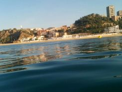 La Paquita paddle board spot in Spain