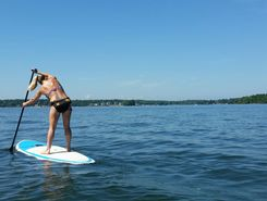 Megan and Robs Dock Stop paddle board spot in United States
