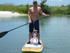 Big hickory island paddle board spot in United States